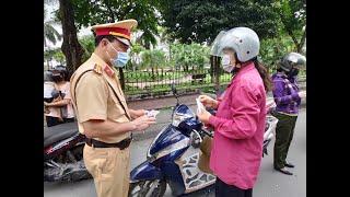 Công an TP Uông Bí: xử lý 144 chủ phương tiện vi phạm Luật Giao thông đường bộ