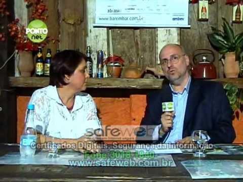 Ricardo Orlandini entrevista a empresária Lia Consalter