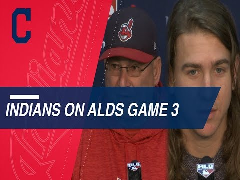 Video: Clevinger, Francona on strategy for must-win Game 3