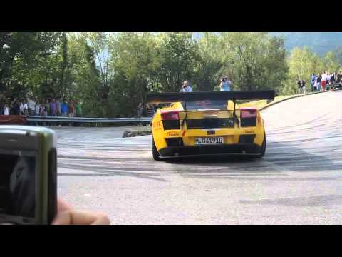 rally e lamborghini incredibile realtà!