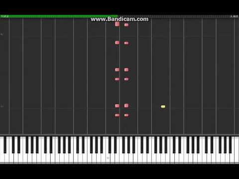 (Synthesia) The Black Eyed Peas – My Humps PIANO