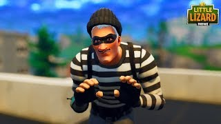 BURGLAR STEALS FROM JOHN WICK! *NEW SKIN* Fortnite Short Film