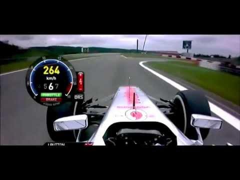 F1 2013 Germany - Jenson Button Onboard