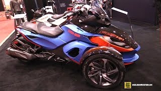 6. 2015 Can-am Spyder RS S - Walkaround - 2015 Toronto Motorcycle Show