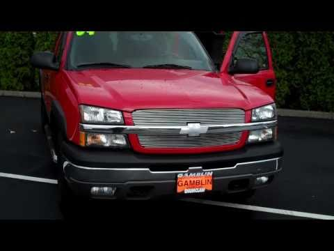2004 Chevrolet Silverado 1500 Extended Cab 4X4 Red - Art Gamblin Motors - Tim Smitty Smith - V2022