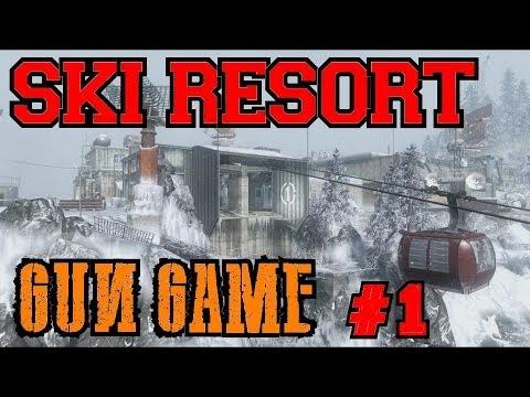 Custom Zombies – Ski Resort (Black Ops Summit): Gun Game (Part 1)