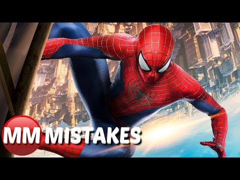The Amazing Spiderman MOVIE MISTAKES, Goofs, Fails You Missed |  Spider Man Movie