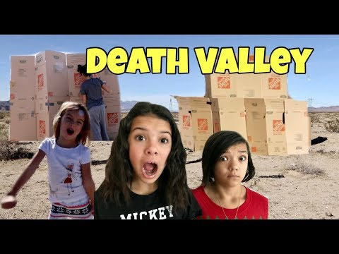 DEATH VALLEY BOX FORT TAG   CAPTURE THE FLAG!