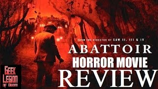 ABATTOIR ( 2016 Jessica Lowndes ) Horror Movie Review