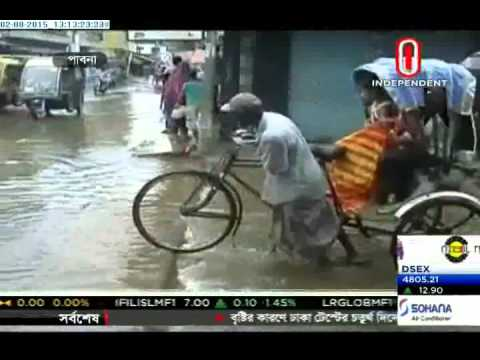 People suffer for water logging in parts of country (02-08-2015)