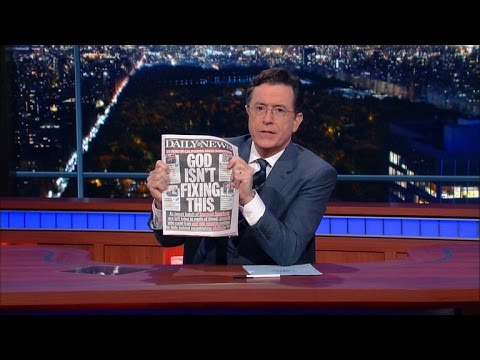 Does Colbert Support Increased Gun Ownership