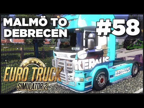 Euro - Euro Truck Simulator 2 - Ep. 58 - Malmo to Debrecen - Part 2 Smack that LIKE for more ETS2! Missed an episode of ETS2? ETS2 Playlist - http://goo.gl/wGrik ○ ...