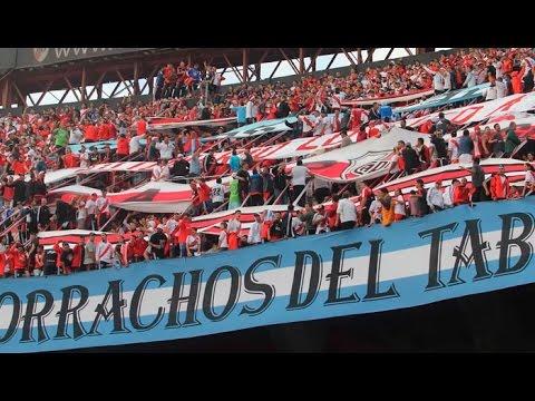 Gol de Alario y delirio de los hinchas - Los Borrachos del Tablón - River Plate
