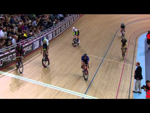 Adam Blythe wins Revolution's longest lap race (video)