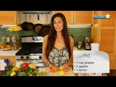 Juice - Check out Bas Rutten's Liver Shot on MMA Surge: http://bit.ly/MMASurgeEp1 Mahalo.com healthy cooking expert Kristina Jackson demonstrates how to make anti-ag...