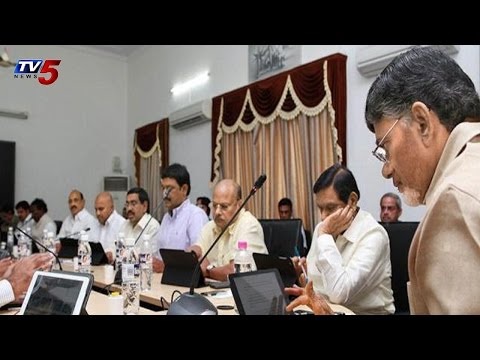 AP Cabinet Meet Over Hudhud Losses and CBN Foreign Tour : TV5 News