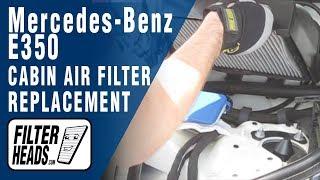 Cabin air filter replacement mercedes benz e350 vidinfo for Mercedes benz e350 air filter replacement