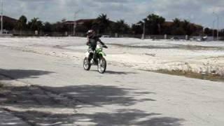 6. Wheely Kawasaki kdx 220 R