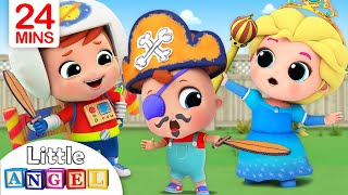 Video This is the Way We Get Ready for Playtime |Little Angel Nursery Rhymes MP3, 3GP, MP4, WEBM, AVI, FLV Juli 2019