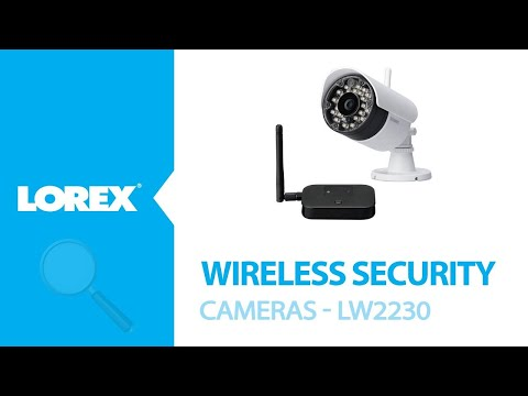New Lorex Wireless Security Camera – LW2230