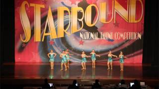 Dance Unlimited Darlings- Land of 1000 Dances- Starbound National Talent Competition