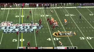 Tyler Bray vs NC State (2012)
