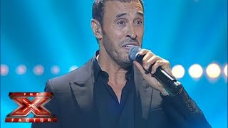 كاظم الساهر - قولي ولو كذباً - العروض المباشرة الأسبوع 4 - The X Factor 2013