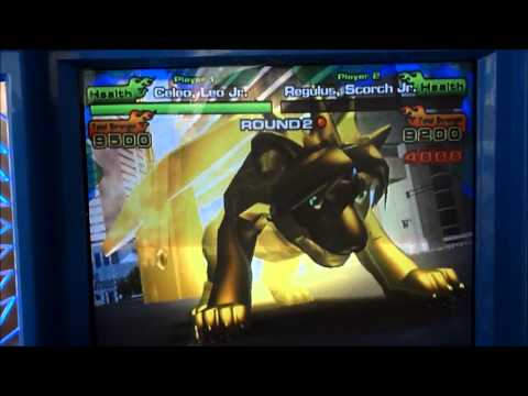 Animal Kaiser Evolution 4 - Celeo, Leo Jr. vs Regulus, Scorch Jr.