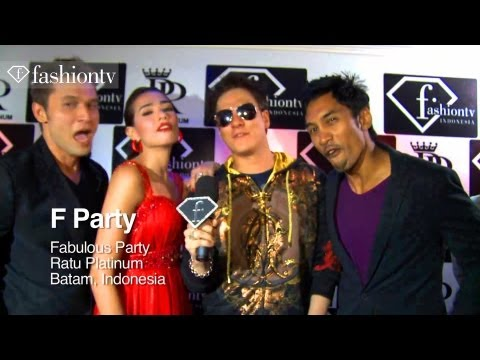 Ratu Platinum Party ft DJ Moshi Fernandez, Beautiful Girls and F Vodka – Batam