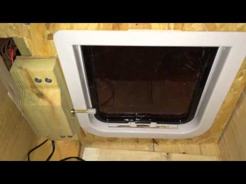 Video of locking mechanism