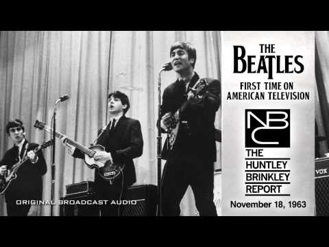 NBC TV - The Beatles' first appearance on American television was on NBC News -- the November 18, 1963 edition of the Huntley-Brinkley Report, which featured this rep...