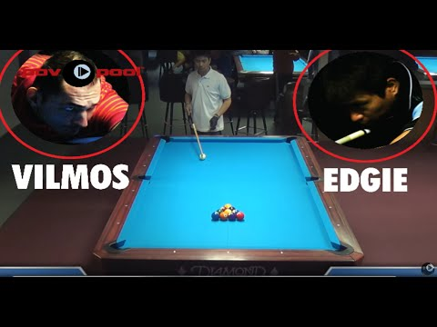 PT 5 / $10K - 10 Ball Match! Vilmos Foldes vs Edgie Geronimo (видео)