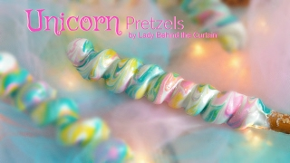 How to Make Unicorn Decorated Pretzels