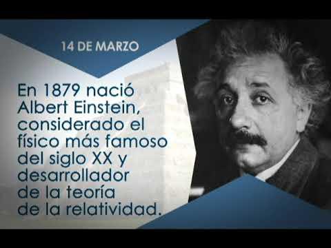¿Sabías qué? El 14 de marzo de 1879 nació Albert Einstein 14/03/19