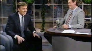 Donald Trump on Letterman, 1986-87