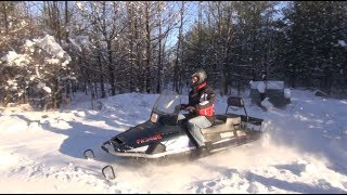 2. Yamaha Viking VK540, test ride, PowerModz recovery sled!