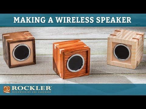 Rockler Wireless Speaker Kit Rockler Woodworking and