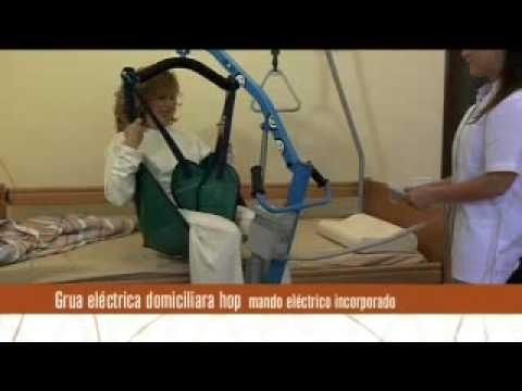 Grúa Básica Eléctrica Arnés Cómodo