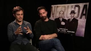 Neruda sort en DVD. L'occasion de (re)voir notre interview avec Gael García Bernal et Pablo Larr