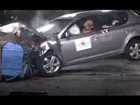 Kia Ceed 5D Краш-тест Kia Cee'd от EuroNCAP. Фронтальный удар