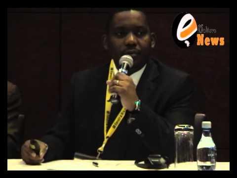 L'exposé de l ADG Ahmed Kalej de la Gecamines lors de mining Indaba 2013 en afrique du sud