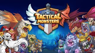 TIME TO GET TACTICAL ON THESE FOOLIOS!!! - Let's Play Tactical Monsters Rumble Arena Gameplay