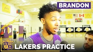 Brandon Ingram On Jerry West's Message After Visit To Lakers by Lakers Nation