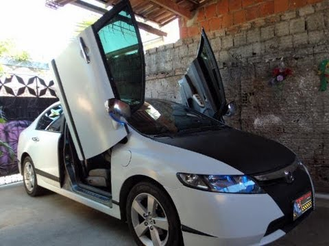 Honda New Civic com lambo door Tuning doors