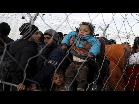 Δραματικές στιγμές για χιλιάδες πρόσφυγες στην Ειδομένη
