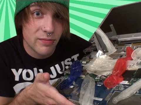 Fixin' Things With MattG - Condoms In My Laptop?!