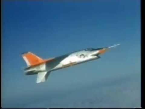 The Vought XF8U-3 Crusader III...