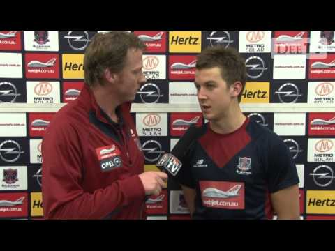 Jack Trengove post match round 22