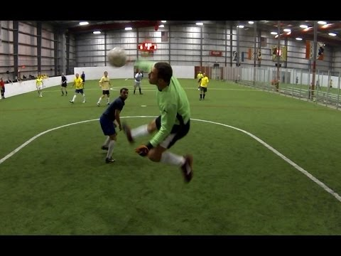 Indoor Soccer Keeper Saves | 5-7-2014