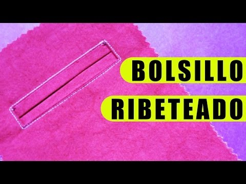 Tutorial: Bolsillo Ribeteado